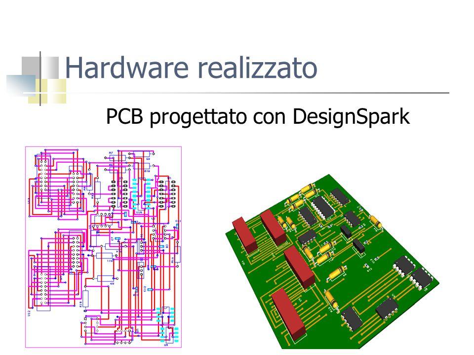 PCB progettato con DesignSpark