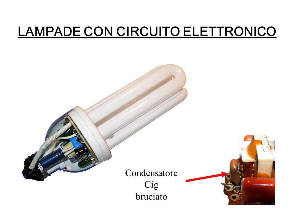 LAMPADE CON CIRCUITO ELETTRONICO