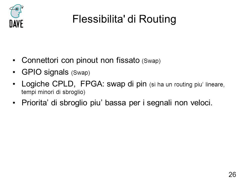 Flessibilita di Routing