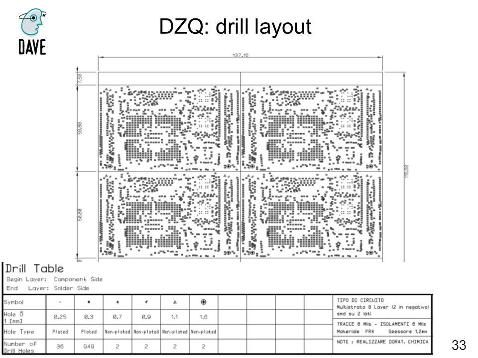 DZQ: drill layout 33