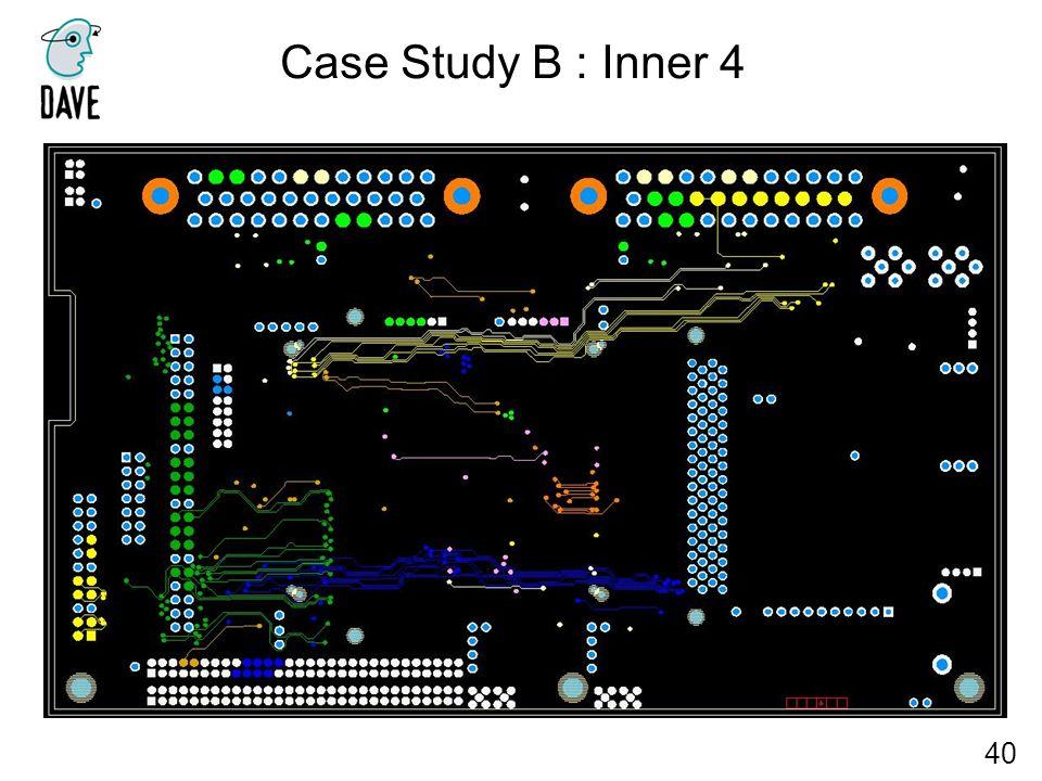 Case Study B : Inner 4 40