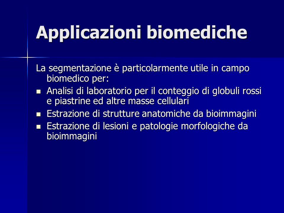 Applicazioni biomediche