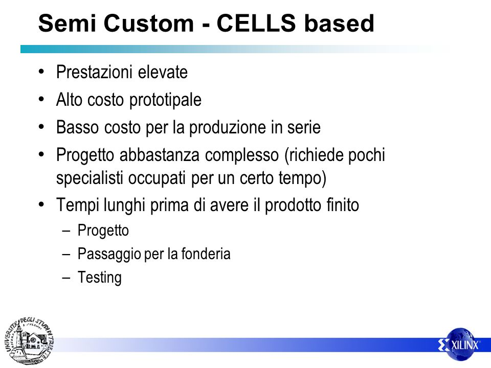 Semi Custom - CELLS based
