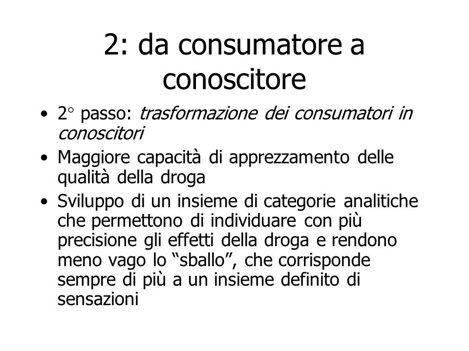 2: da consumatore a conoscitore