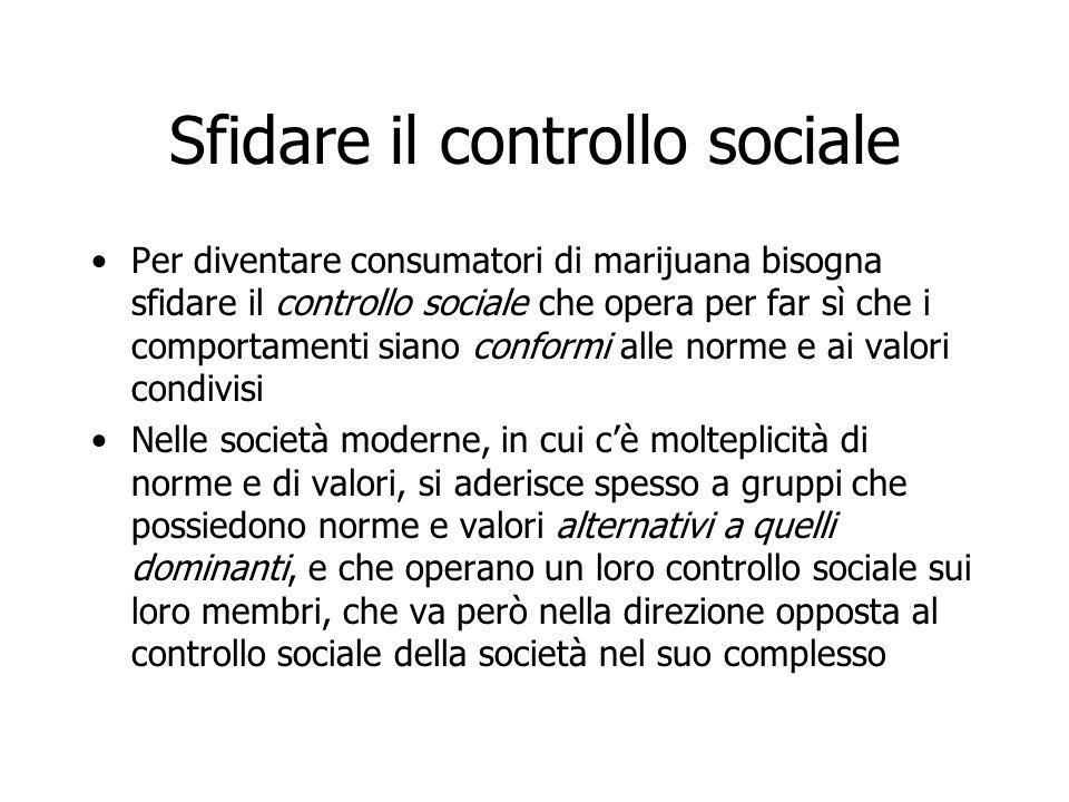 Sfidare il controllo sociale