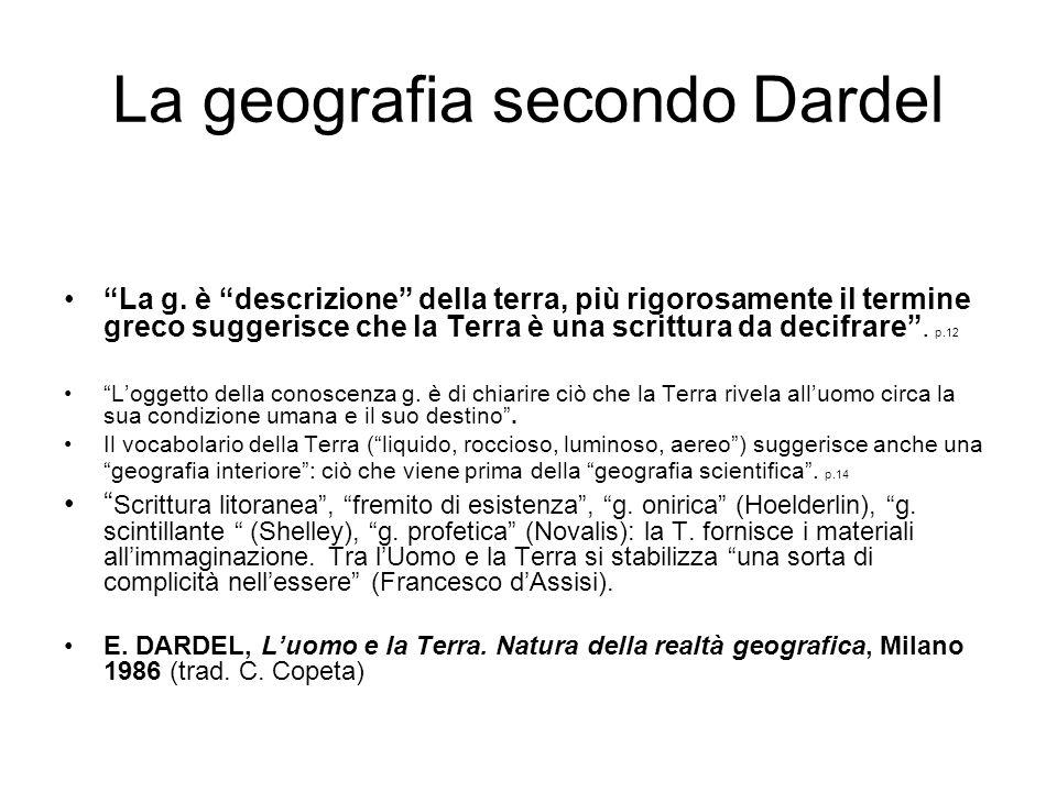 La geografia secondo Dardel