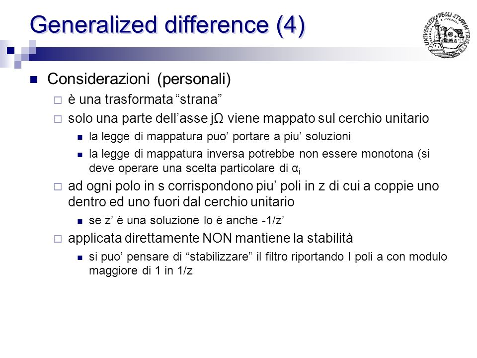 Generalized difference (4)