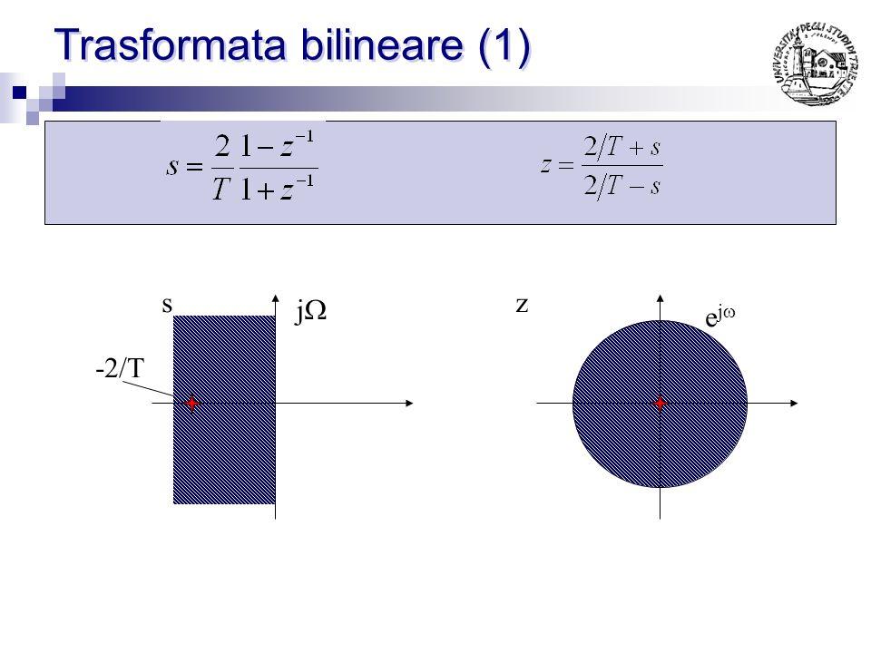 Trasformata bilineare (1)