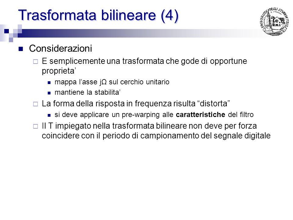 Trasformata bilineare (4)