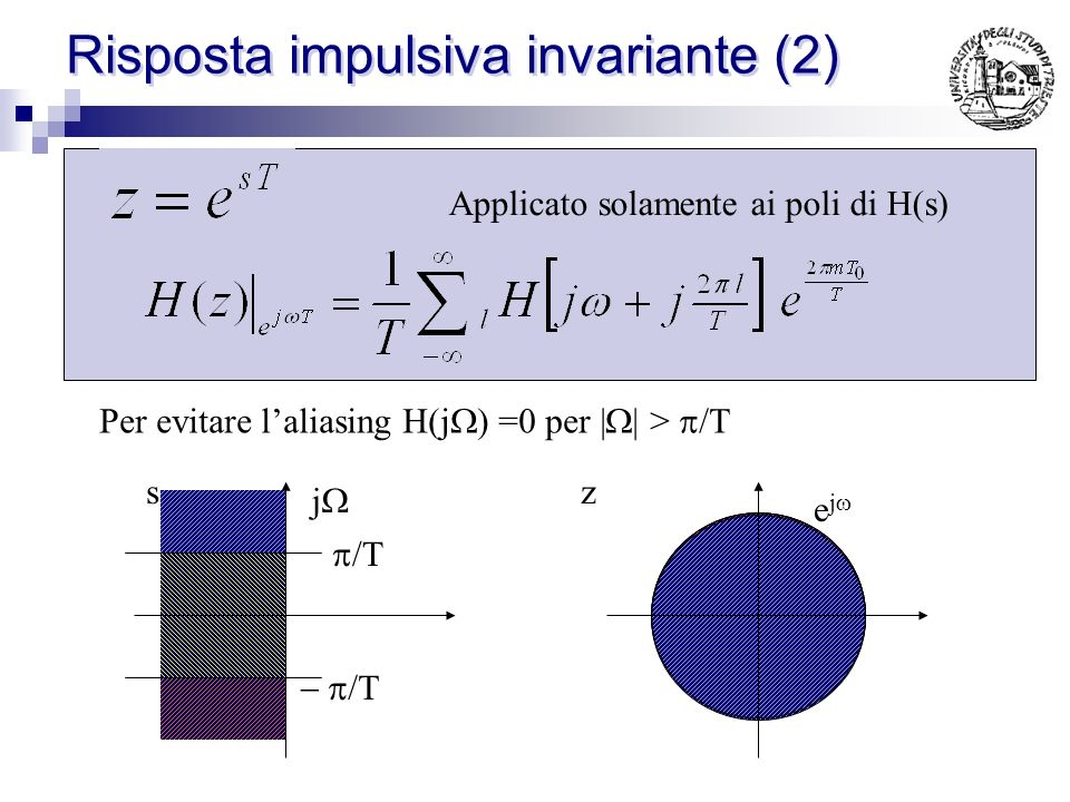 Risposta impulsiva invariante (2)