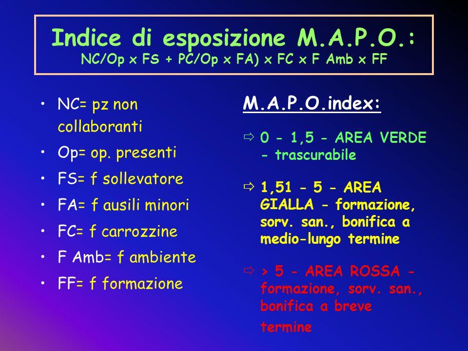 Indice di esposizione M. A. P. O