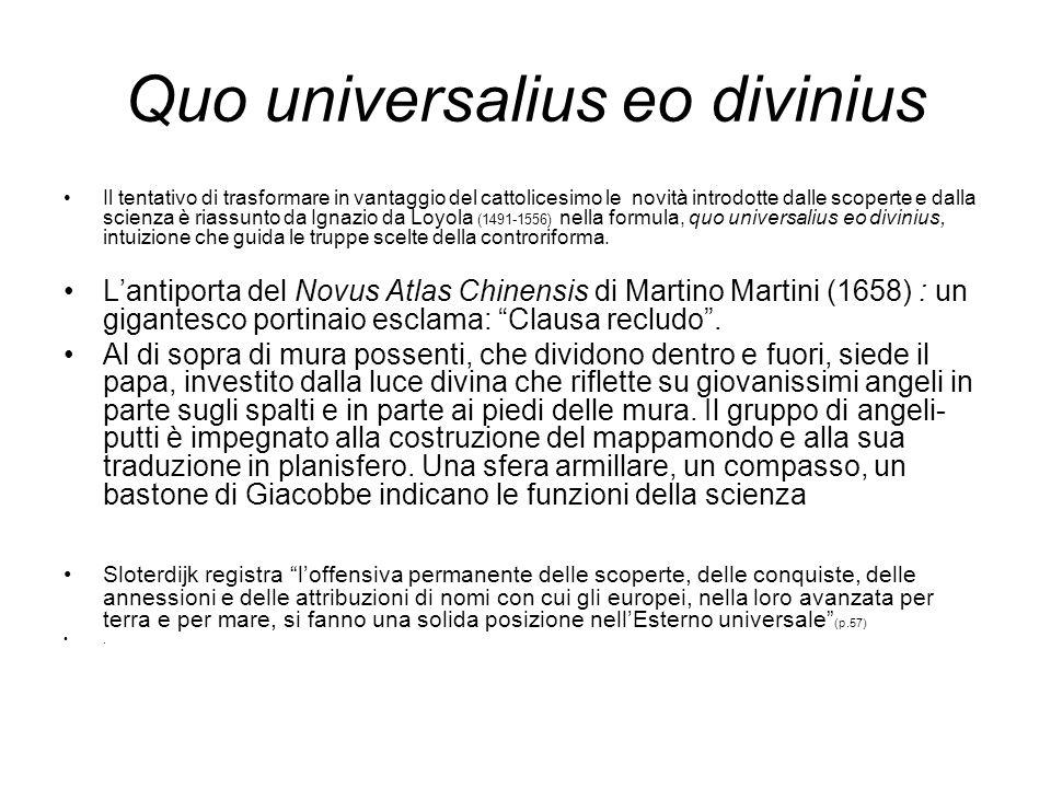 Quo universalius eo divinius