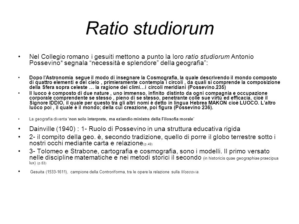 Ratio studiorum