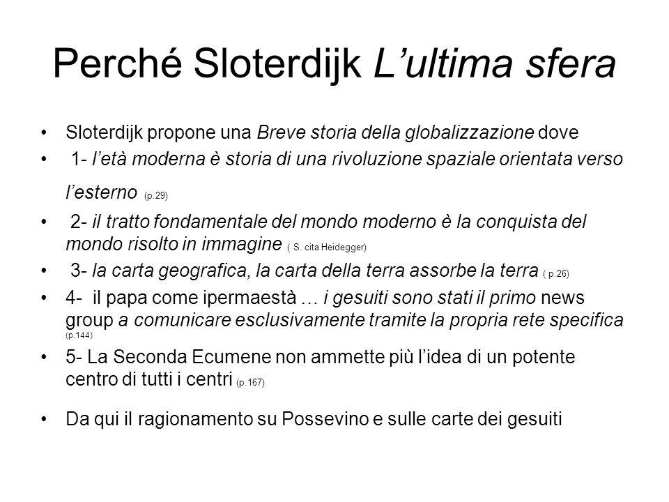 Perché Sloterdijk L'ultima sfera