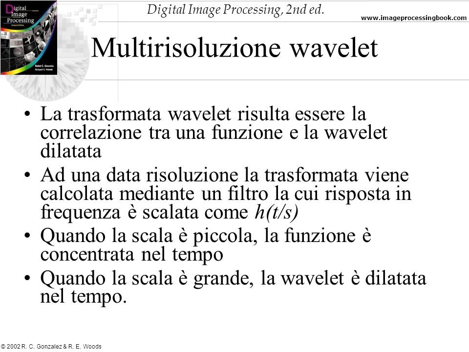 Multirisoluzione wavelet