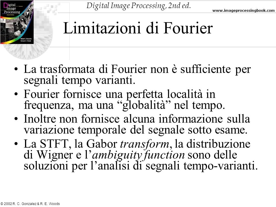 Limitazioni di Fourier