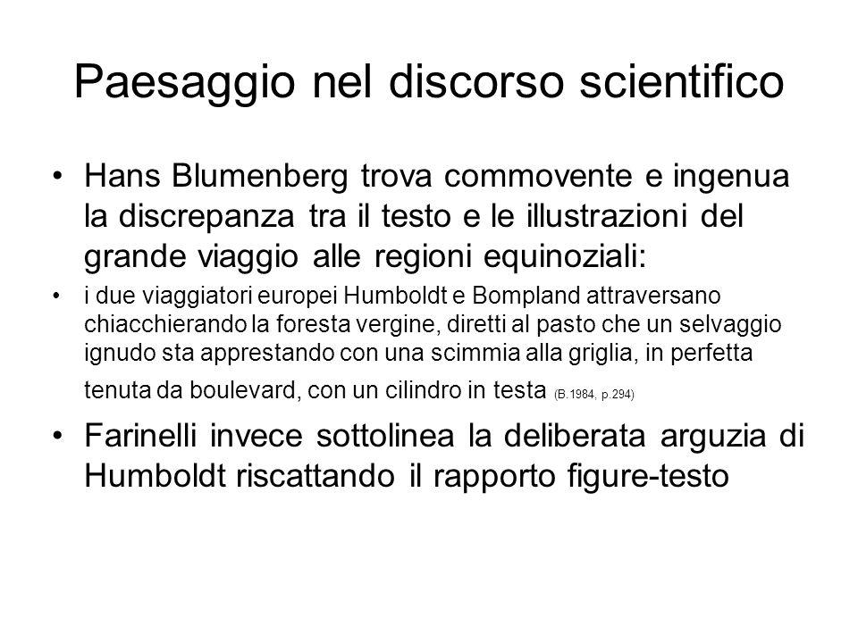 Paesaggio nel discorso scientifico