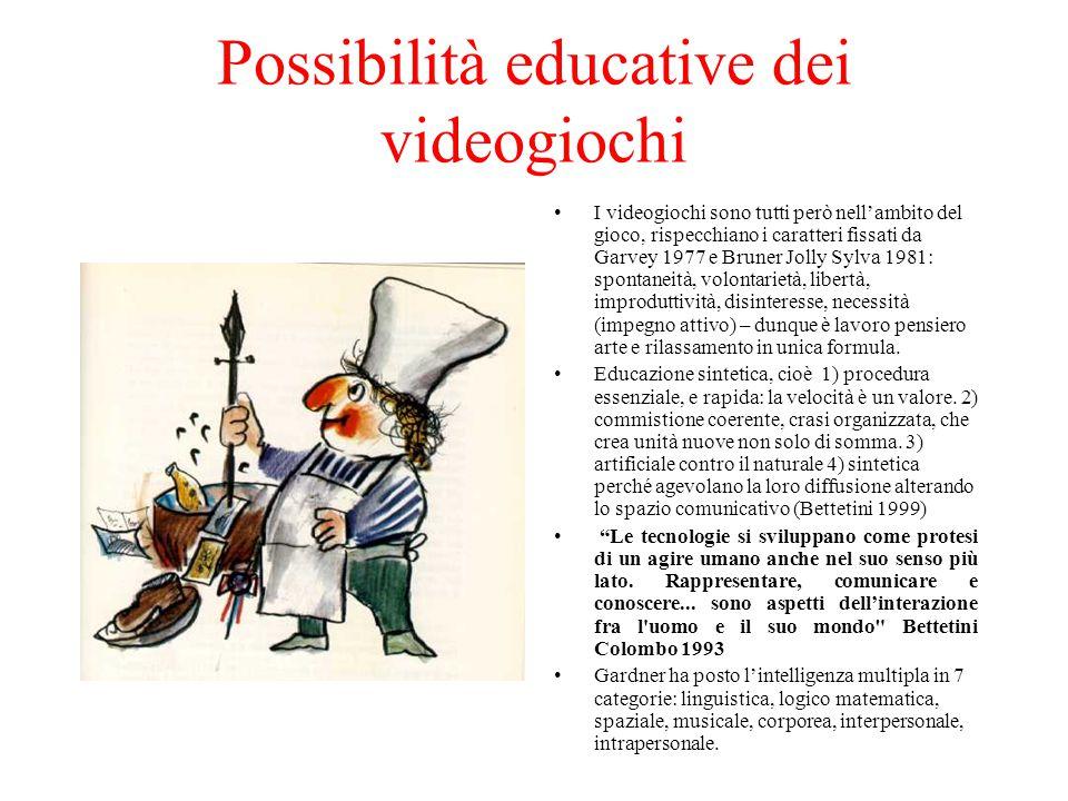 Possibilità educative dei videogiochi