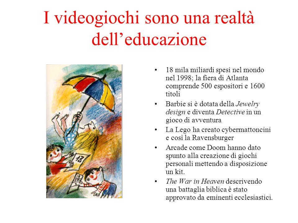 I videogiochi sono una realtà dell'educazione