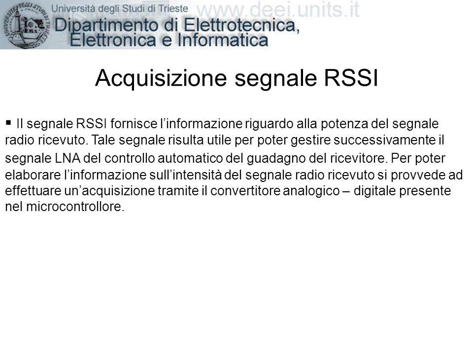 Acquisizione segnale RSSI