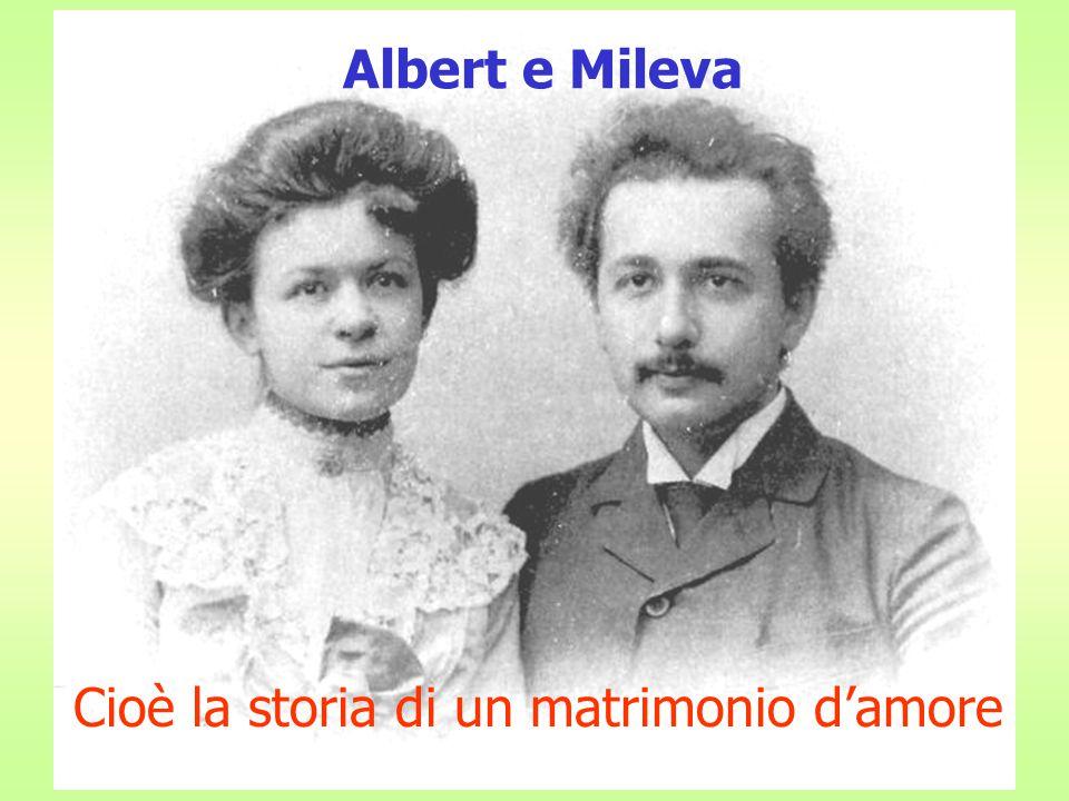 Albert e Mileva E=mc2 Cioè la storia di un matrimonio d'amore