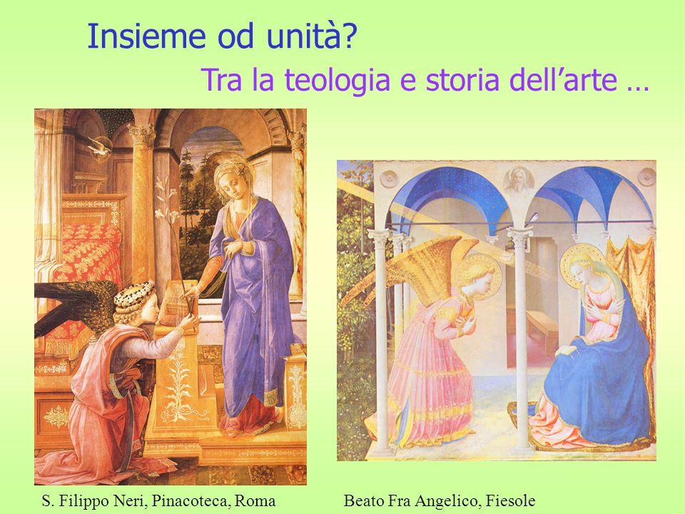 Insieme od unità Tra la teologia e storia dell'arte …