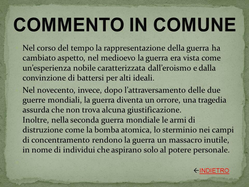 COMMENTO IN COMUNE