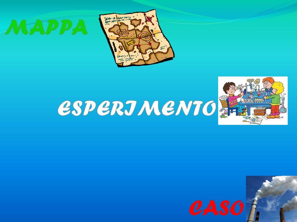 MAPPA ESPERIMENTO CASO