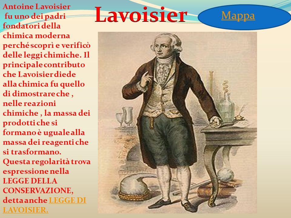 Lavoisier Mappa Antoine Lavoisier