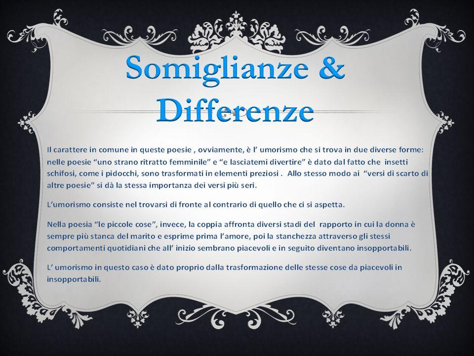 Somiglianze & Differenze