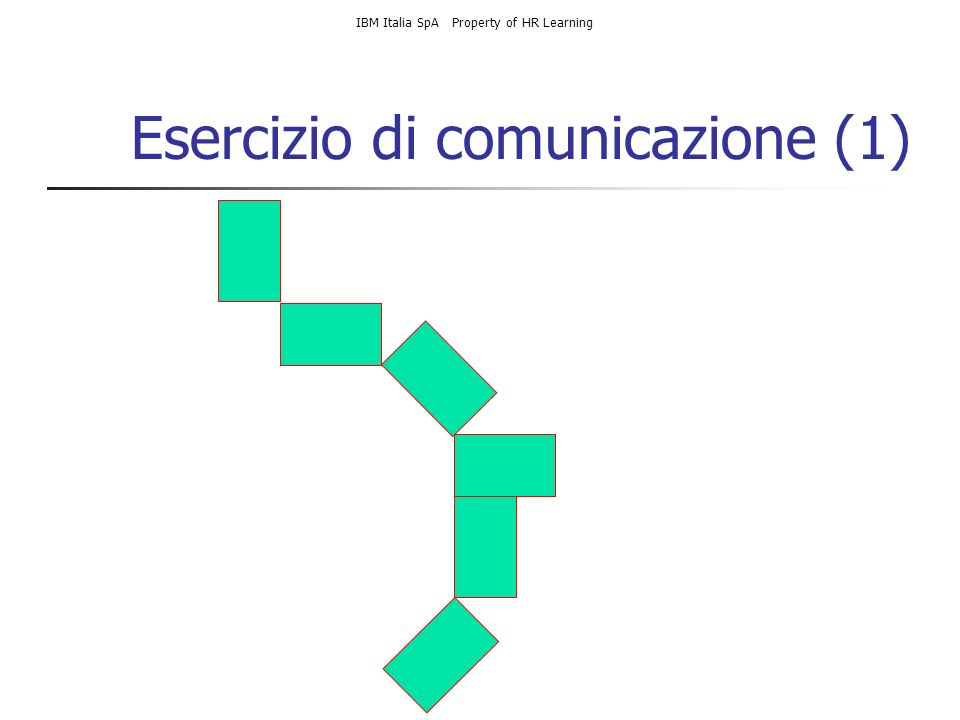 Esercizio di comunicazione (1)