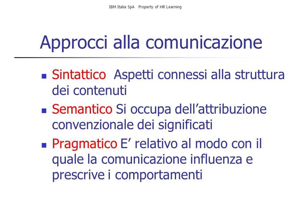 Approcci alla comunicazione