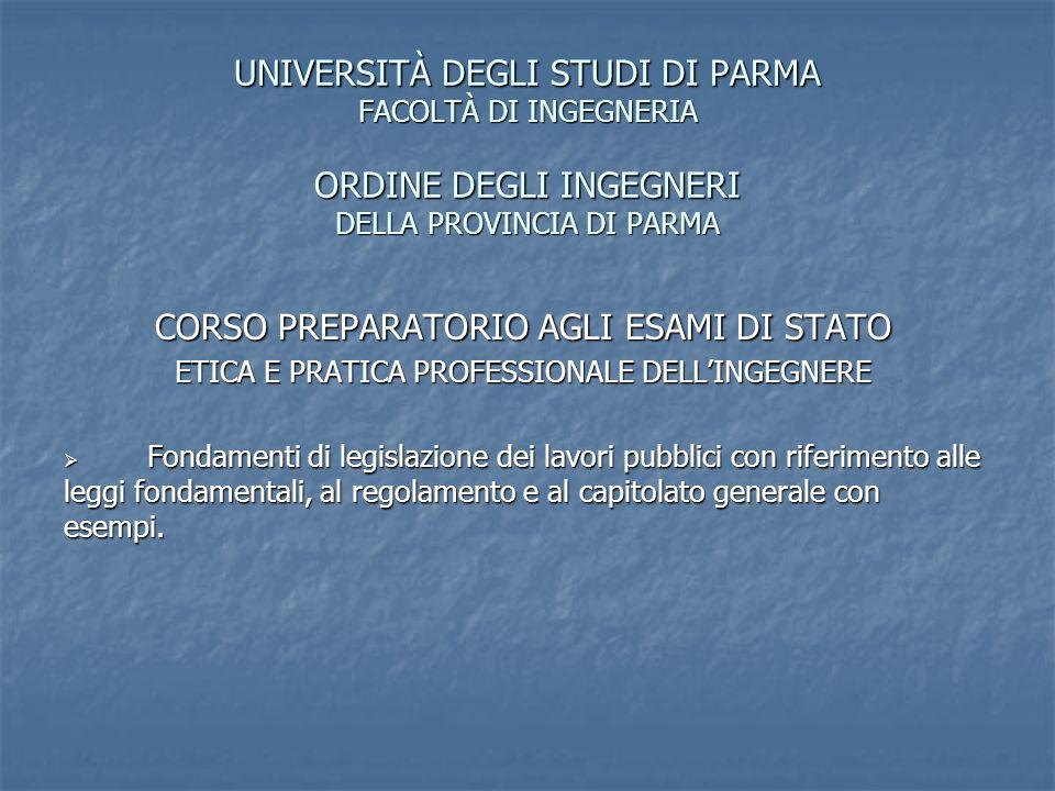 CORSO PREPARATORIO AGLI ESAMI DI STATO