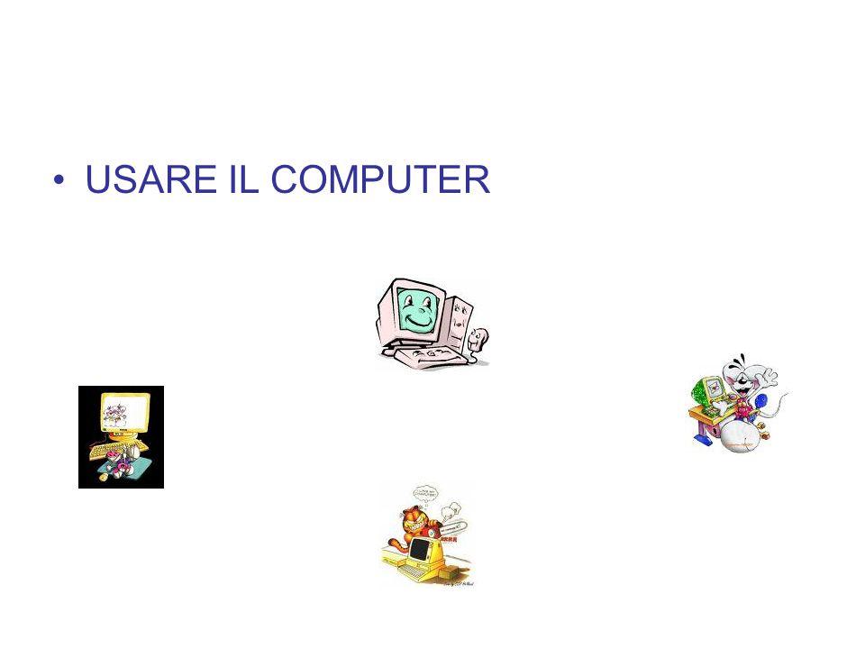 USARE IL COMPUTER