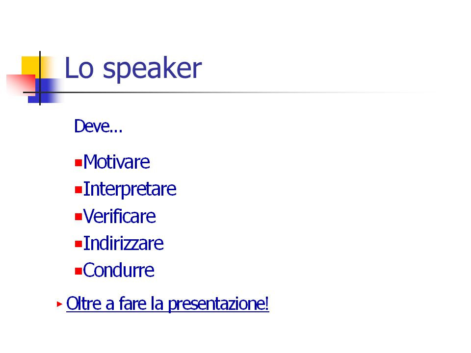Lo speaker
