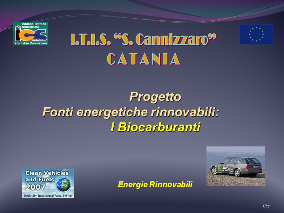 I.T.I.S. S. Cannizzaro C A T A N I A Progetto