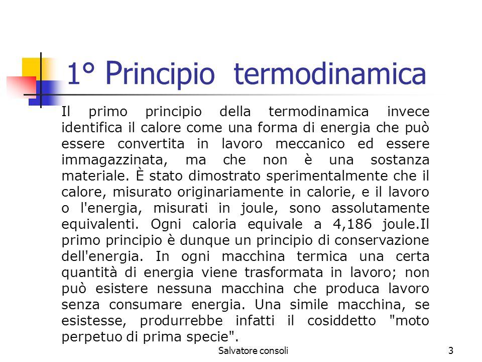 1° Principio termodinamica