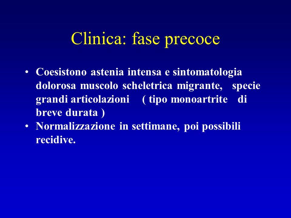 Clinica: fase precoce
