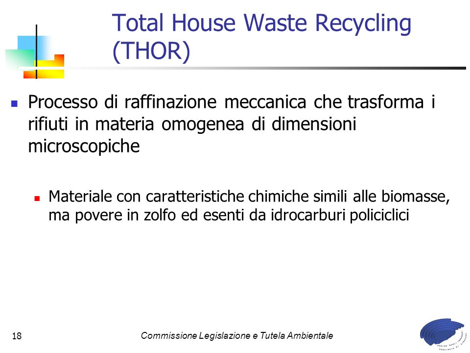 Total House Waste Recycling (THOR)