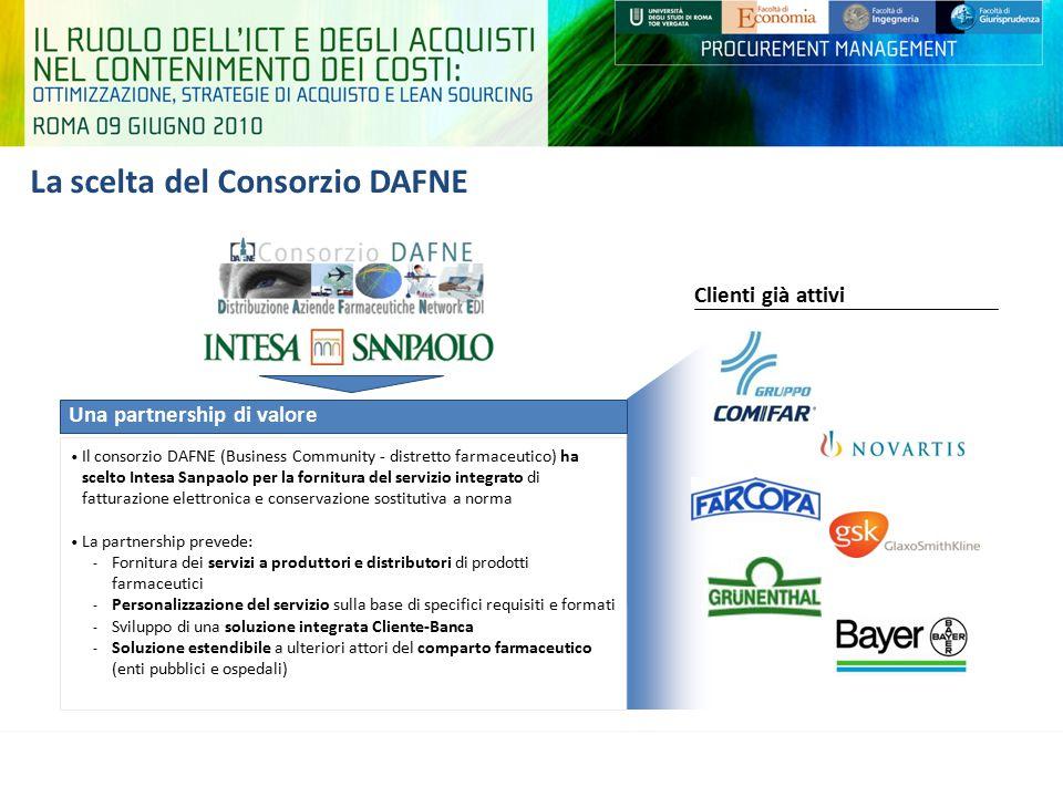 La scelta del Consorzio DAFNE