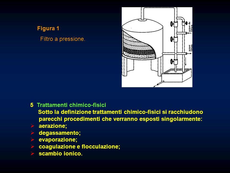 Figura 1 Filtro a pressione. 5 Trattamenti chimico-fisici.