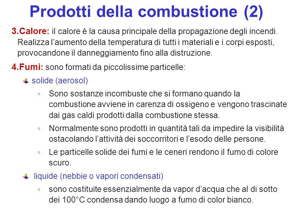 Prodotti della combustione (2)