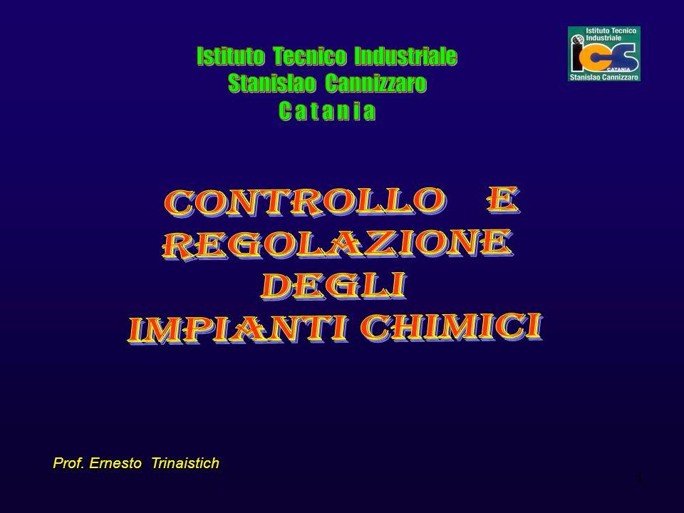 Controllo e regolazione negli impianti chimici