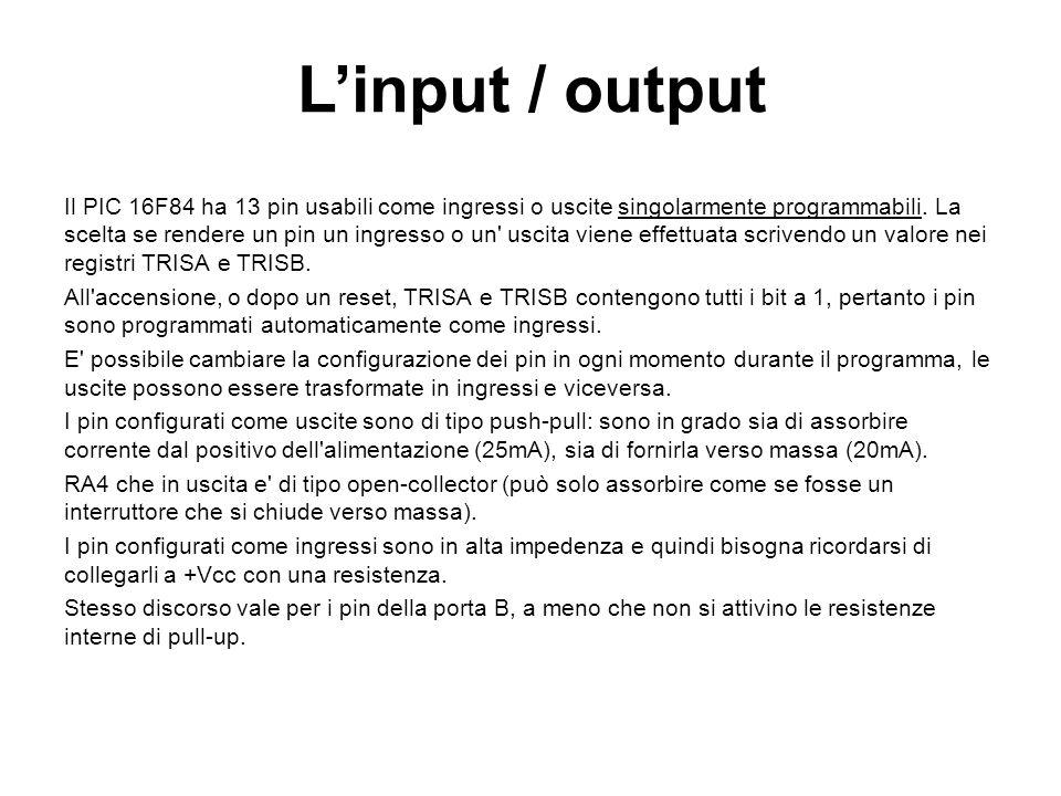 L'input / output