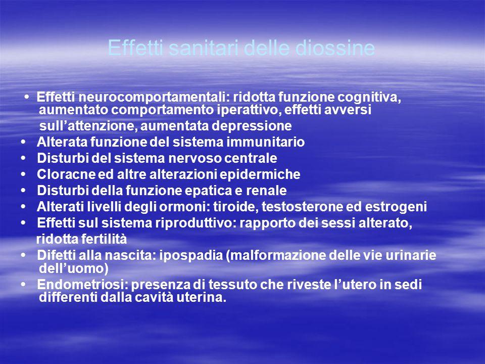 Effetti sanitari delle diossine