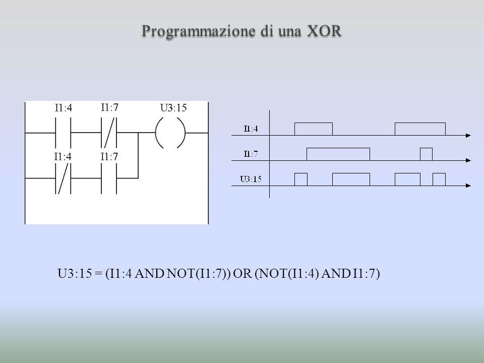 Programmazione di una XOR