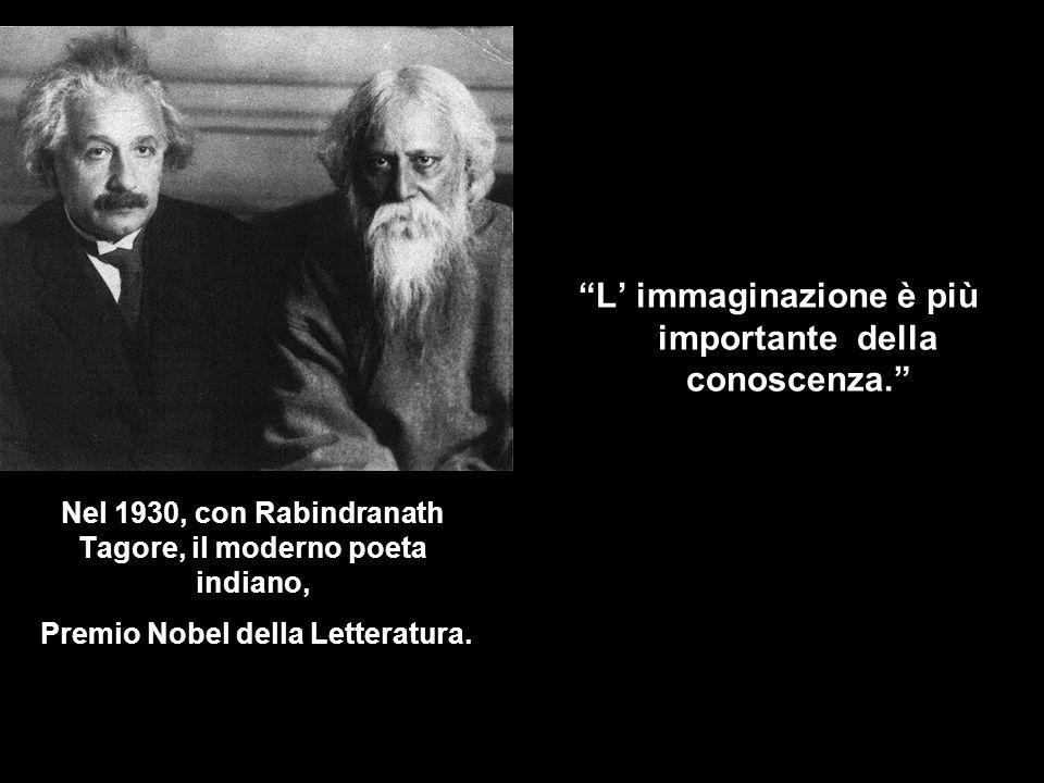 L' immaginazione è più importante della conoscenza.