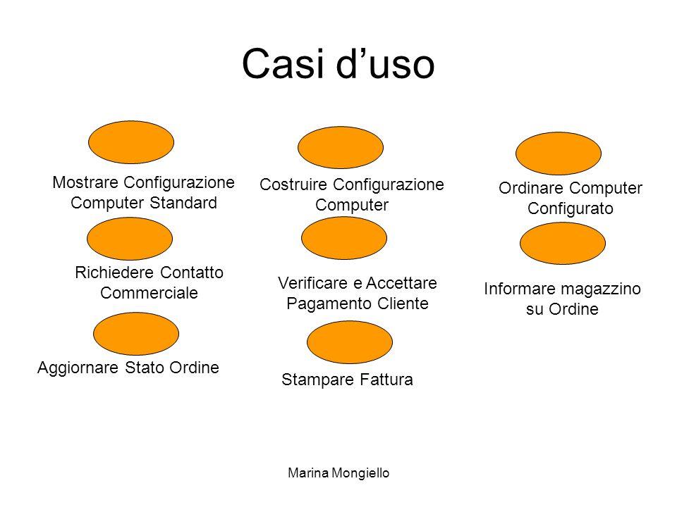Casi d'uso Mostrare Configurazione Computer Standard