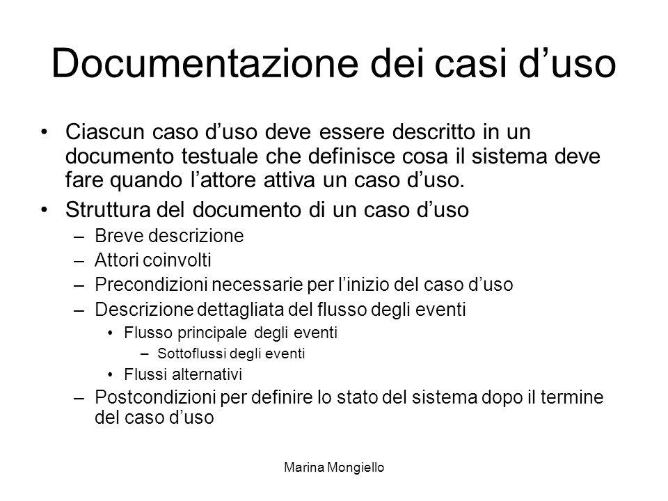 Documentazione dei casi d'uso