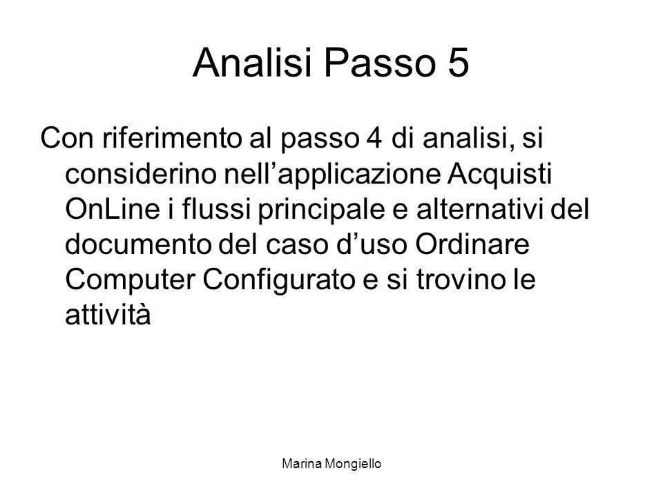 Analisi Passo 5